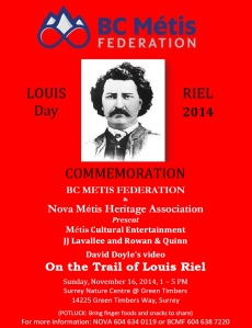 metismatters Riel Poster