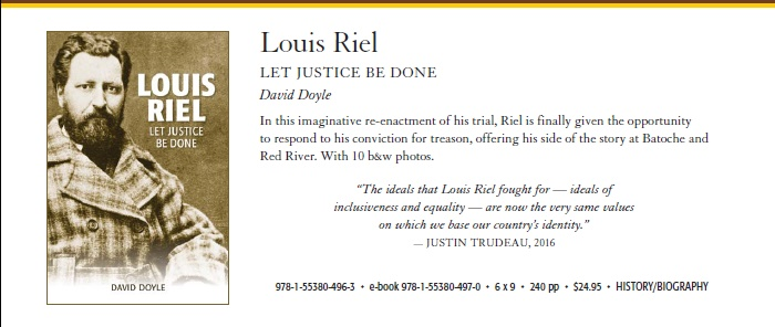Riel book blurb